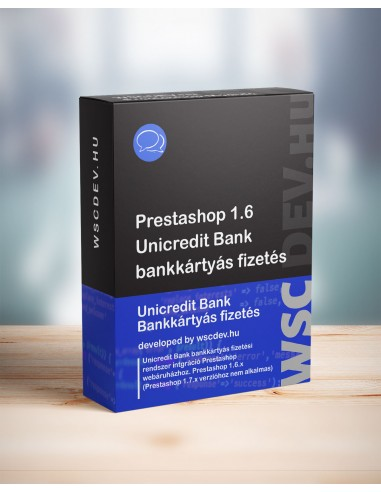 Prestashop Unicredit Bank Hungary...